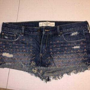 Abercrombie shorts women's 30 waist